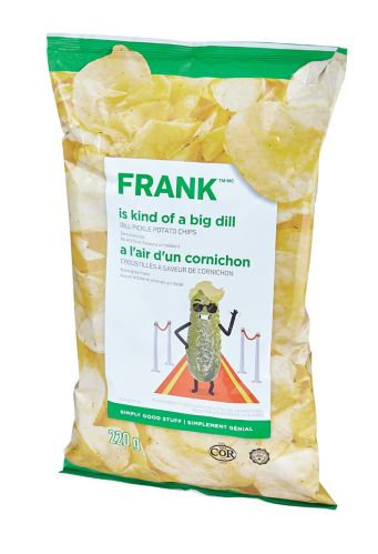 FRANK Dill Pickle Chips, 200-g Product image