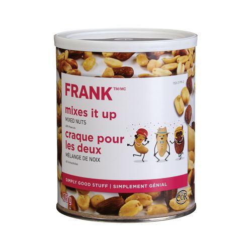 Noix mélangées FRANK, boîte métallique de 475 g Image de l'article