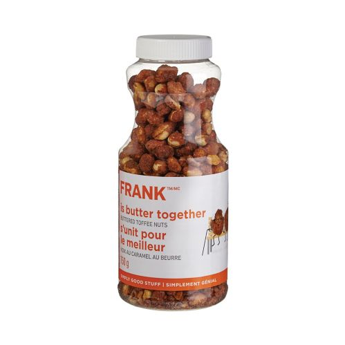 FRANK Buttered Toffee Peanuts Jar, 750-g Product image