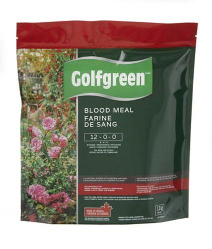 Farine de sang Golfgreen, 12-0-0, 1,3 kg Image de l'article