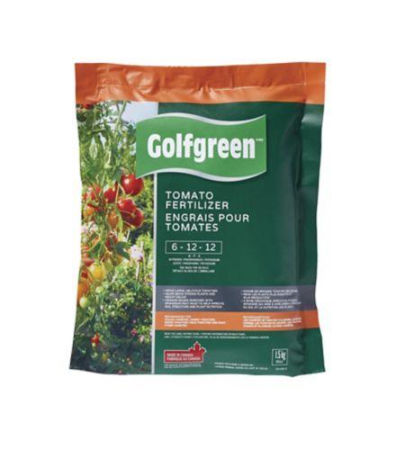 Golfgreen Tomato Food, 6-12-12, 1.5-kg