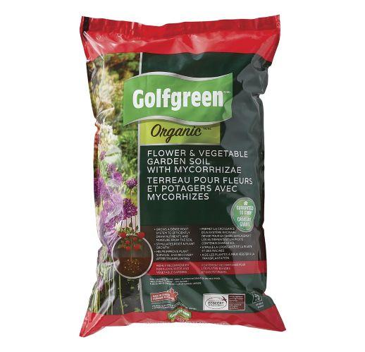 Golfgreen Organic Flower & Vegetable Soil, 25-L Product image