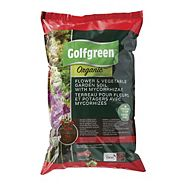 Golfgreen Organic Flower & Vegetable Soil, 25-L