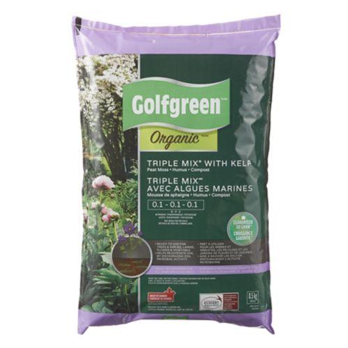 Triple mélange avec algues marines biologique Golfgreen, 8,5 kg Image de l'article