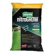 Golfgreen NitroGROW Lawn Soil, 28.3-L