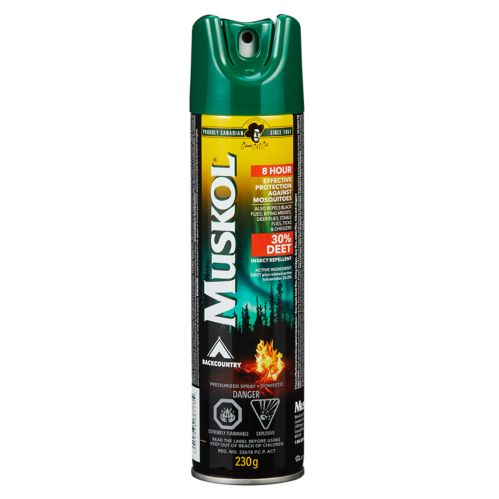 Muskol Backcountry Mosquito Repellent Aerosol, 230-g Product image