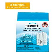 Thermacell Mosquito Repellent Butane Cartridge Refills, 4-pk
