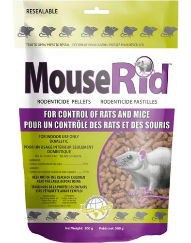 MouseRid Rodenticide Pellets, 500-g Product image