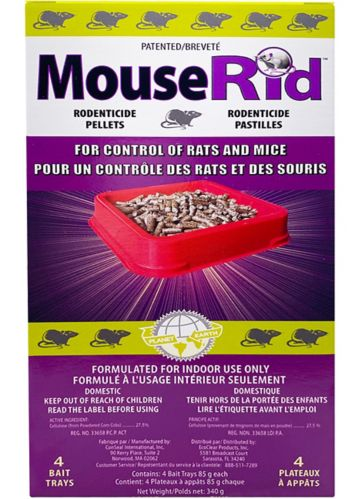 MouseRid Rodenticide Pellet Trays Product image