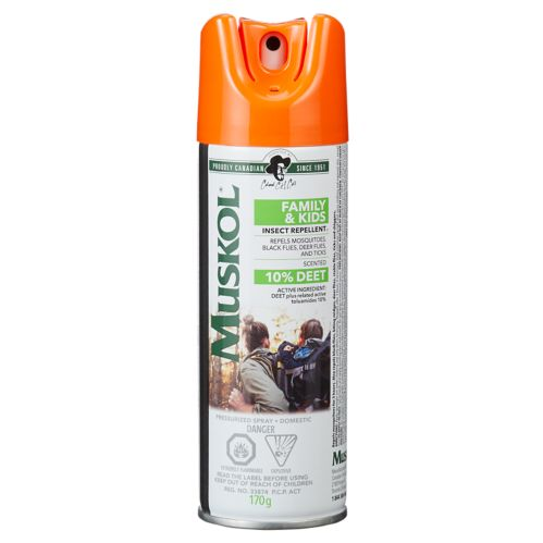 Muskol Family & Kids Insect Repellent Aerosol, 170-g Product image