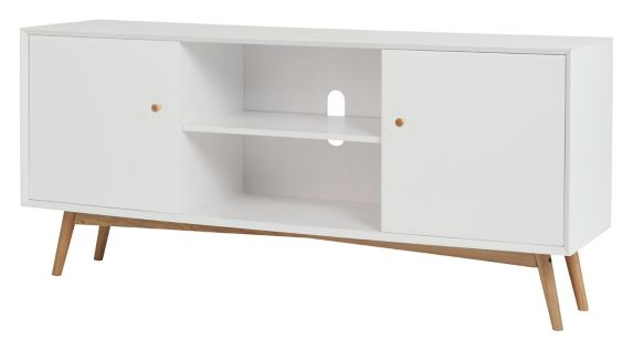 CANVAS Copenhagen TV Stand, White