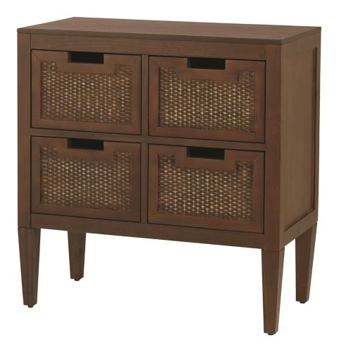 CANVAS Newport 4-Drawer Wicker Cabinet Product image