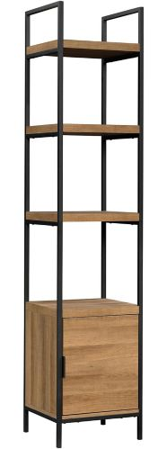 CANVAS Robson Narrow 4-Shelf Bookcase with Cabinet Product image