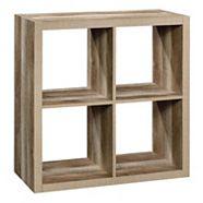 Étagère à 4 cubes CANVAS Fraser, chêne clair