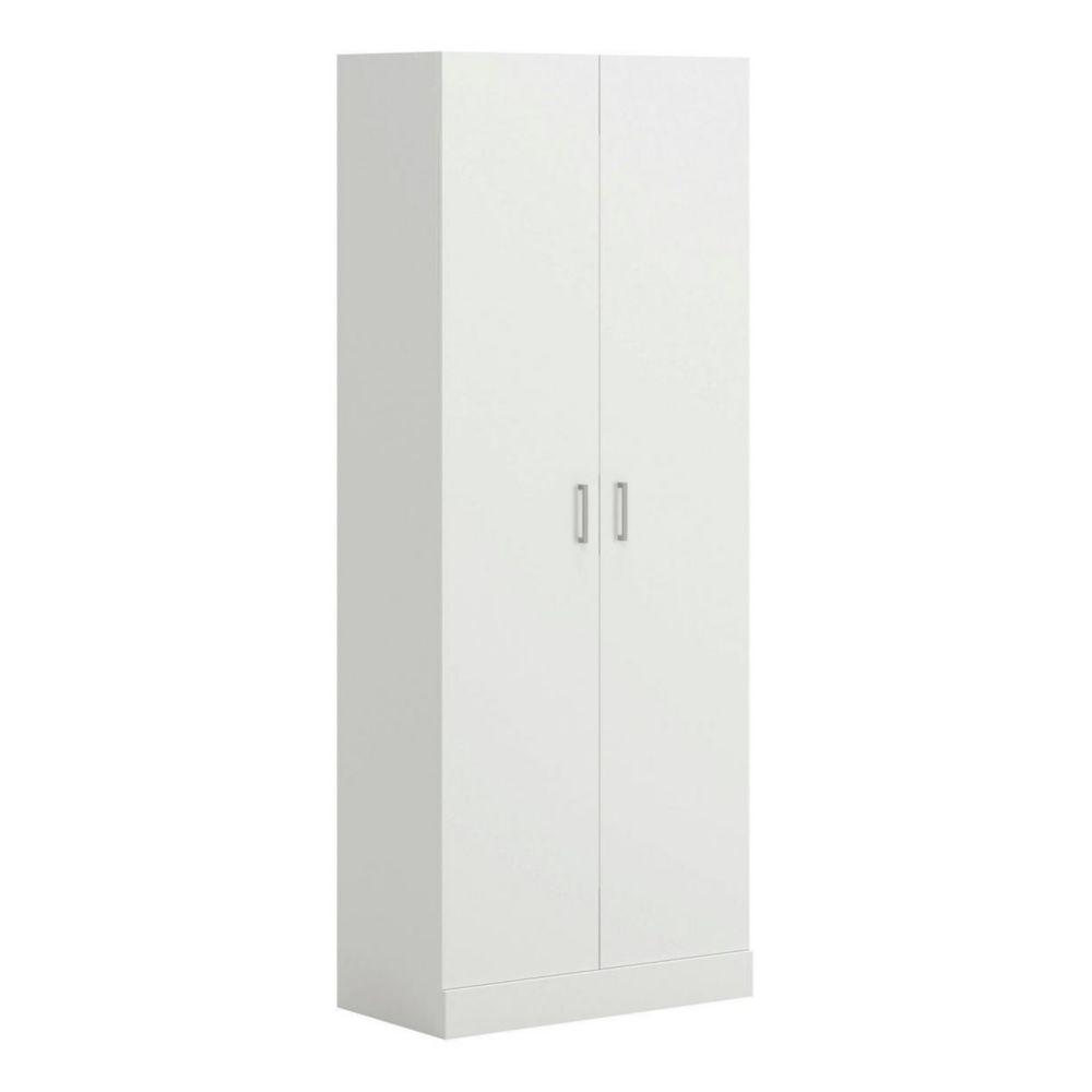 Sauder 2-Door Pantry Storage Cabinet, White