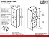 System Build 4-Door Storage Cabinet with Drawer, White | System Build | Canadian Tire
