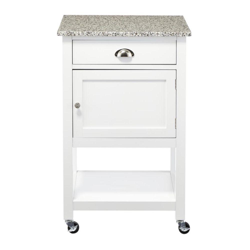 CANVAS Perth Granite Top Kitchen Cart