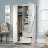 Sauder 2-Door 2-Drawer Wardrobe, White | Saudernull