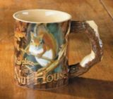 Wild Wings Sculpted Nut House Squirrel Mug | Wild Wings | Canadian Tire