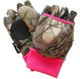 Thinsulate Women's Fleece Flip Mittens/Gloves, Camo