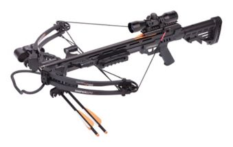 Crosman Sniper 370 Crossbow, Black