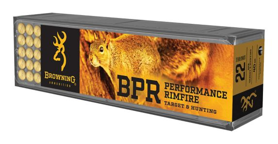 Browning BPR .22 LR Rim Fire Ammunition, 400-rds Product image