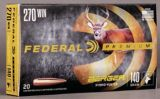 Balles Federal Premium Berger Hybrid Hunter, calibre 270 Winchester, 140 grains | Federal | Canadian Tire