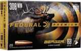 Balles Federal Premium Berger Hybrid Hunter, calibre 308 Winchester, 168 grains | Federal | Canadian Tire