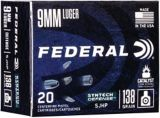 Federal Syntec 9MM Luger 138 Grain Synthetic Jacketed Hollow Point Cartridge | Federal | Canadian Tire