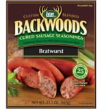 Backwoods Cured Sausage Seasoning, Bratwurst, 25-lb