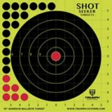 Cibles adhésives Triumph Shot Seeker Bullseye, paq. 10
