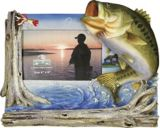 Bass Picture Frame, 4-in x 6-in | RIVERS EDGE | Canadian Tire