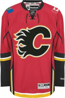 huge discount f1aae 9a2b2 Reebok Calgary Flames Giordano Jersey, Red | Canadian Tire