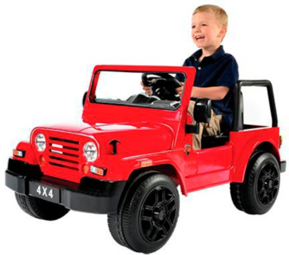 Rollplay 6V 4x4 SUV Ride-On