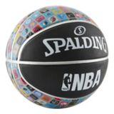 Ballon de basketball Spalding avec icônes de style appli et logo de la NBA, taille 7 | Spalding | Canadian Tire