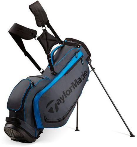 TaylorMade 4.0 Golf Stand Bag, Grey/Black/Blue