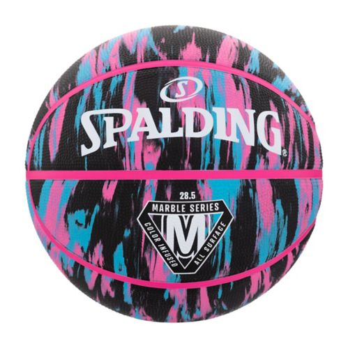 SPALDING BASKETBALL NBA 4HER FOR HER Outdoor Ball Size 6 Pink NEW