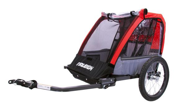 Raleigh Cruise Bike Trailer, Red Product image
