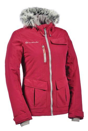Outbound Amelia Insulated Alpine Jacket, Women's, Burgundy