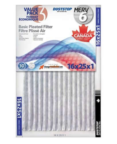 Basic Pleated Filter, 3-pk