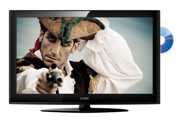 Téléviseur HD combiné Coby, 32 po Image de l'article