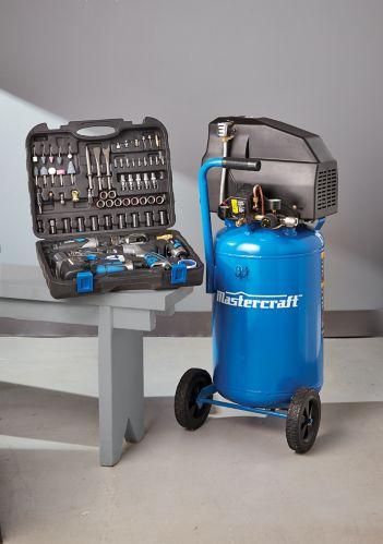 Compresseur d'air Mastercraft et outils pneumatiques, 11 gal Image de l'article