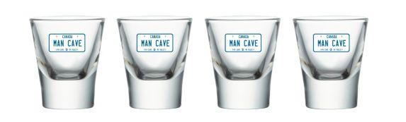 Verres à liqueur Man Cave Image de l'article