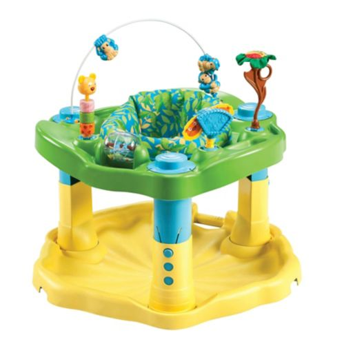 Evenflo ExerSaucer Deluxe Active Learning Center, Zoo Friends Product image