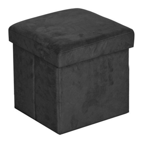 Pouf de rangement Urban Sop, noir Image de l'article