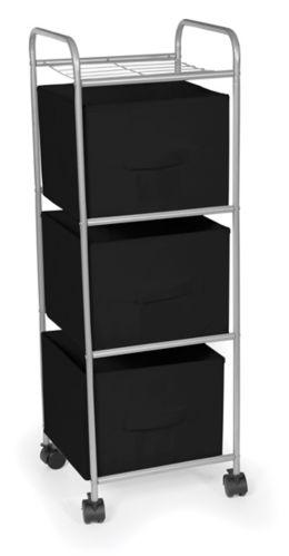Urban Shop 3-Drawer Storage Cart Product image