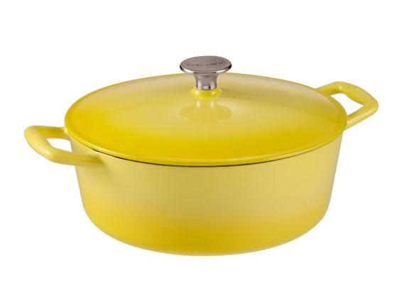 Cocotte ovale Lagostina Tuscan Collection, jaune, 5 pintes Image de l'article