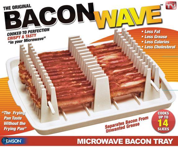 Plaque Bacon Wave Comme à la télé Image de l'article