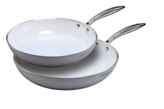 Lagostina Bianco Frying Pans, 2-pk Product image