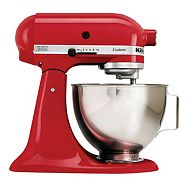 KitchenAid Custom Stand Mixer, Red
